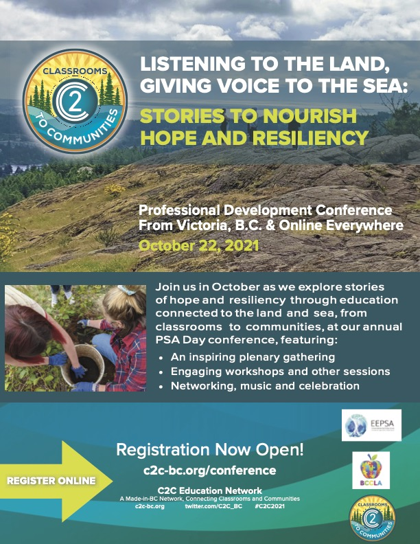 PSA Day – Classrooms to Communities 2021 Provincial Conference